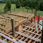 How to Build Deck Framing – Install Posts & Footings