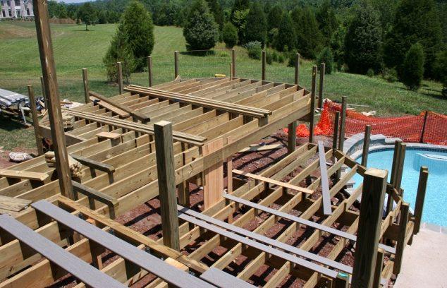 2020 Deck Framing Footing Guide Building Spacing Support Posts Homeadvisor