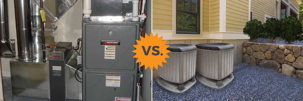 Heat Pumps vs Gas or Electric Furnaces (Compare Costs & More