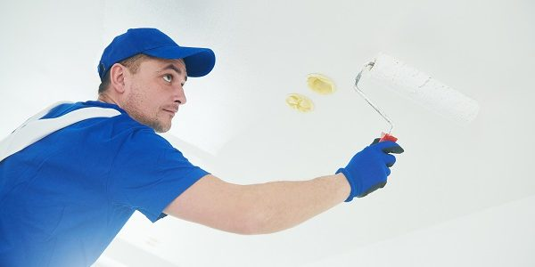 painting stains from a ceiling