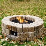 DIY Build a Gas Fire Pit-final product