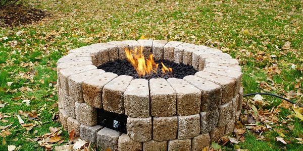 How To Build A Gas Fire Pit In 10 Steps Homeadvisor