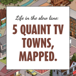 5 quaint tv towns mapped