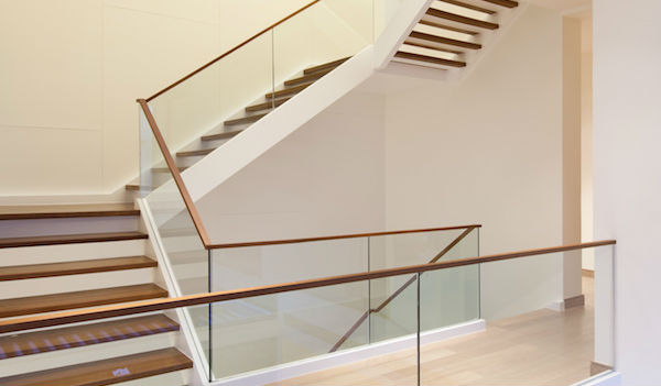 2021 Glass Deck Stair Railing Costs Per Foot Homeadvisor