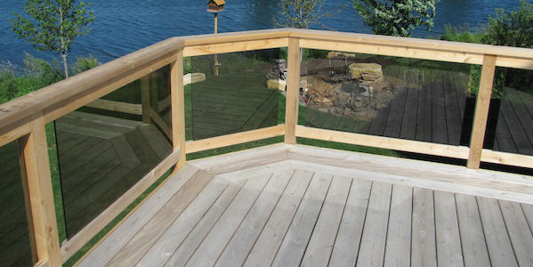 2020 Glass Deck Amp Stair Railing Costs Per Foot Homeadvisor