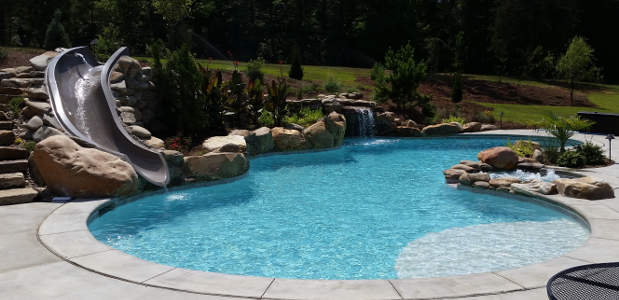 Swimming Pool Slides Prices Types Construction