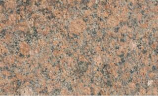 Closeup of granite countertop texture and color
