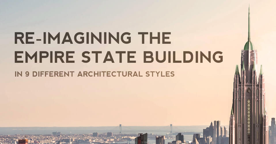 Different Empire State Building Designs