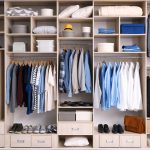 professionally organized closet