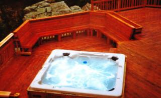 Deck Hot Tub