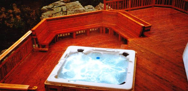 Deck Hot Tub Addition Installers Enhancements And