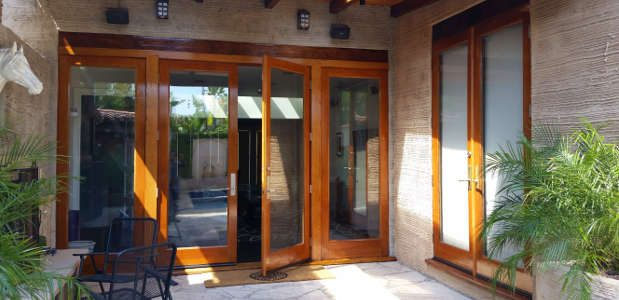 French Doors Are Usually Installed In Pairs That When Opened Together,  Create A Large Entryway To The World Outside. Yet Even When These Doors Are  Closed, ...