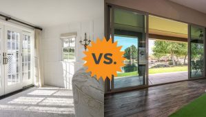 French vs. Sliding Patio Door Styles