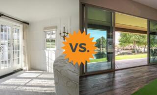 French vs. Sliding Patio Door Styles