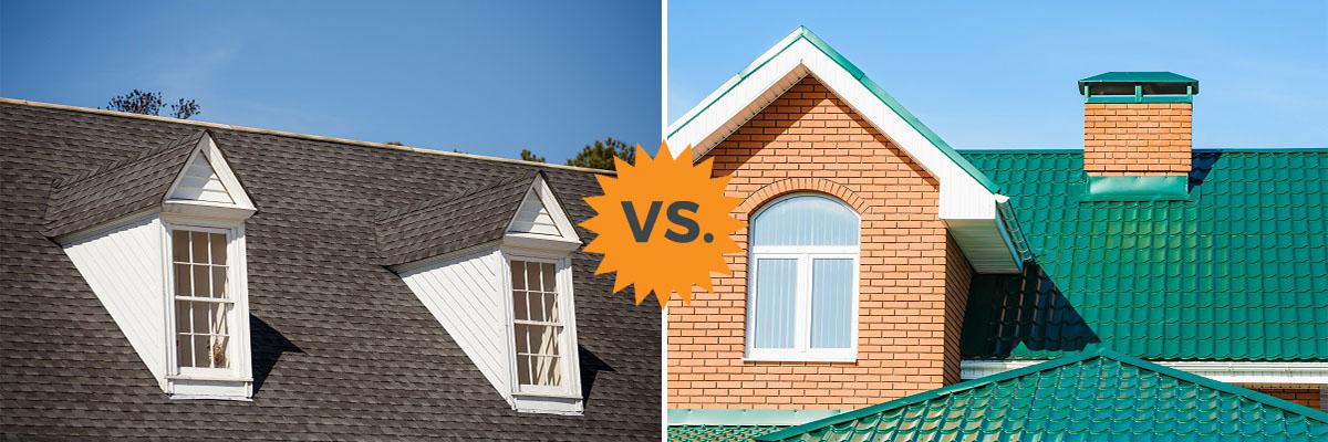 2020 Metal Roofing Vs Asphalt Shingles Pros Cons Homeadvisor