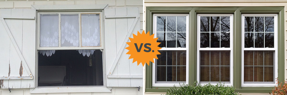Single Hung Vs Double Windows Difference