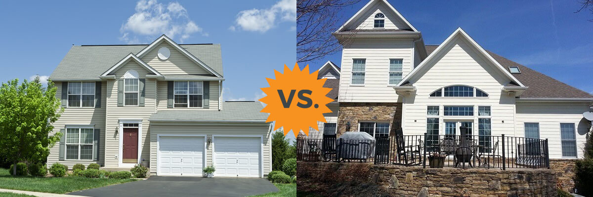 2019 Vinyl Siding Vs Fiber Cement Hardie Board Homeadvisor
