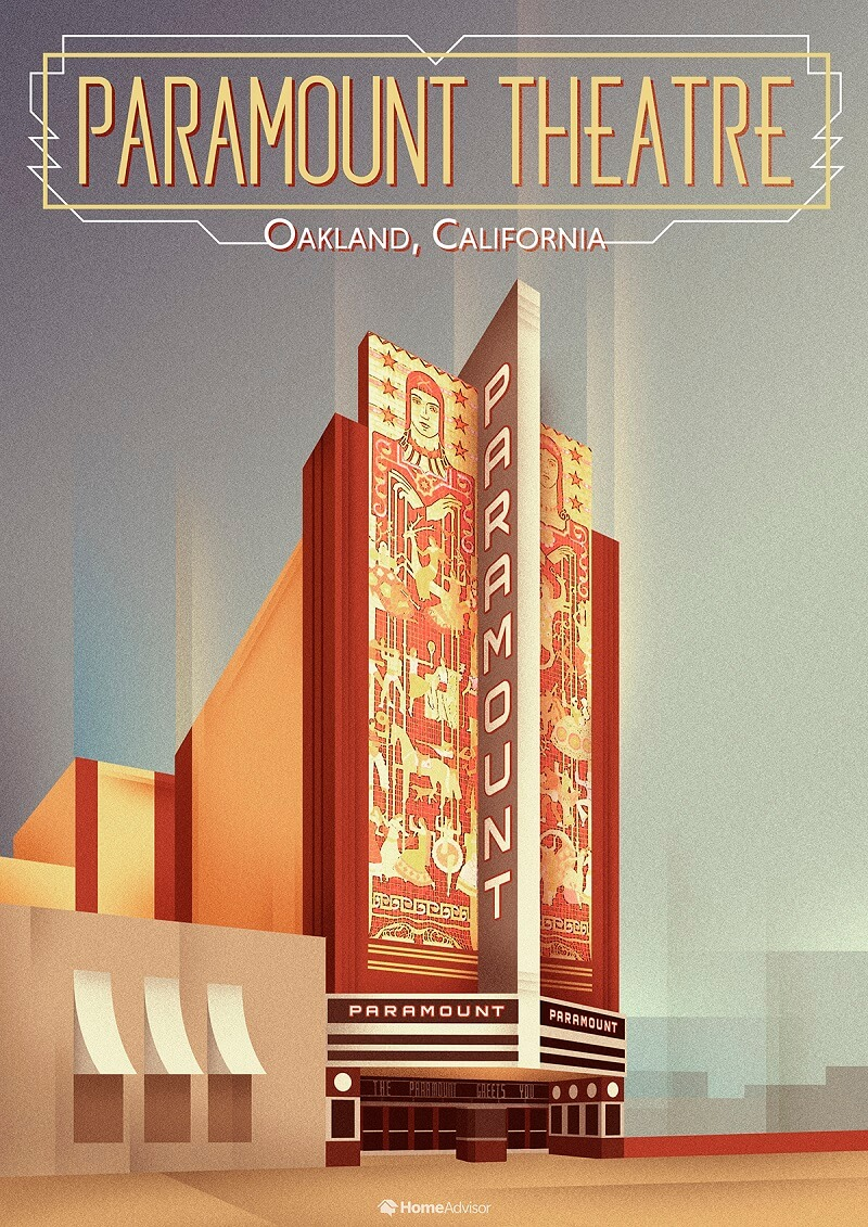 the paramount theater oakland ca