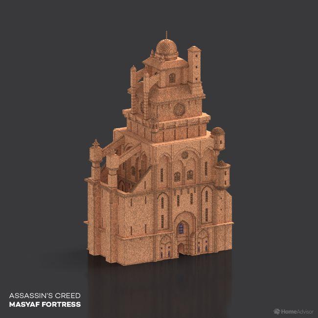 Assassin's Creed Masyaf Fortress