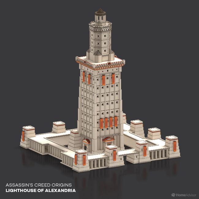 Assassin's Creed Origins Lighthouse Of Alexandria