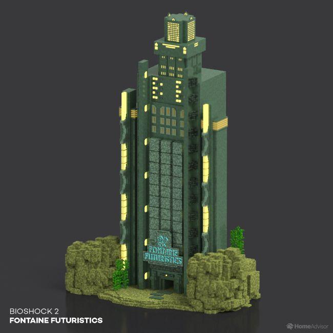 BioShock 2 Fontaine Futuristics