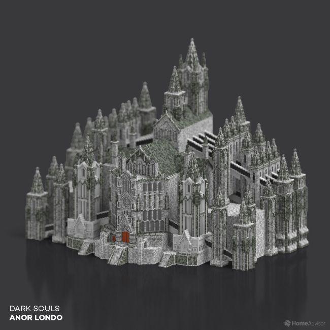 Dark Souls Anor Londo