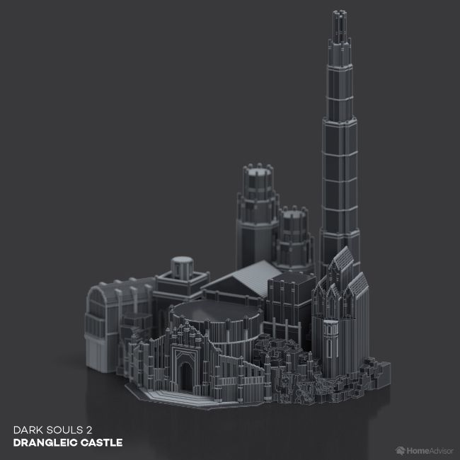 Dark Souls 2 Drangleic Castle