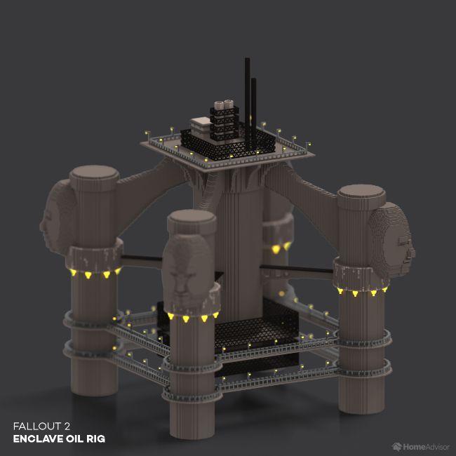 Fallout 2 Enclave Oil Rig