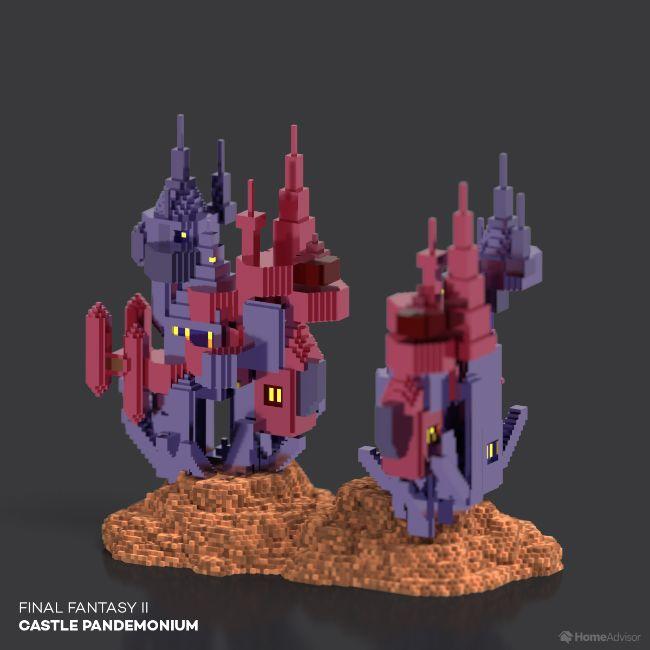 Final Fantasy II Castle Pandemonium