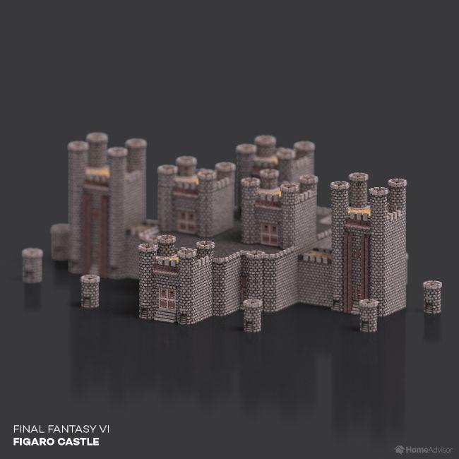 Final Fantasy VI Figaro Castle