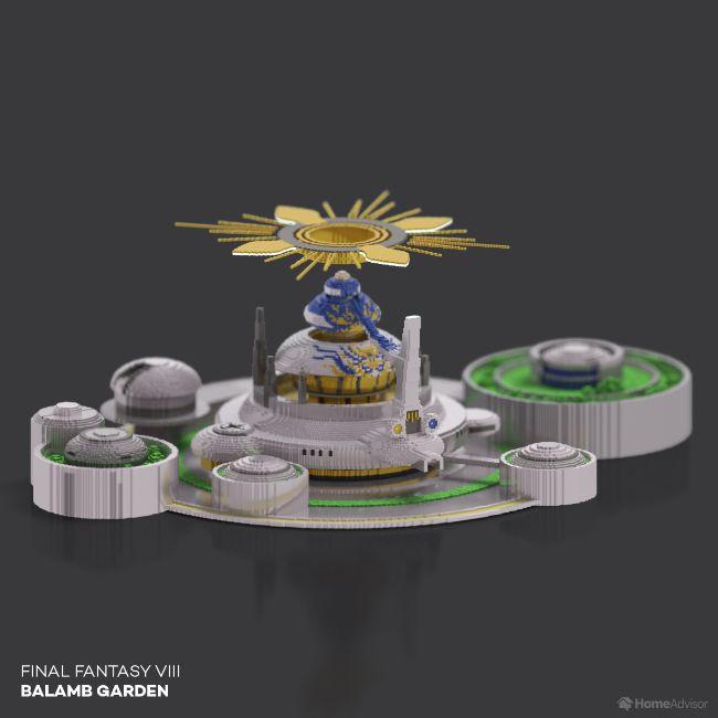 Final Fantasy VIII Balamb Garden