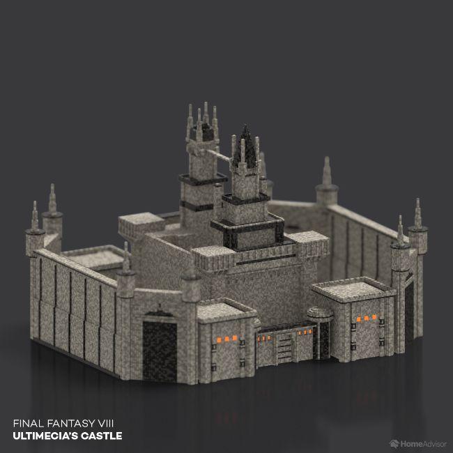 Final Fantasy VIII Ultimecia's Castle