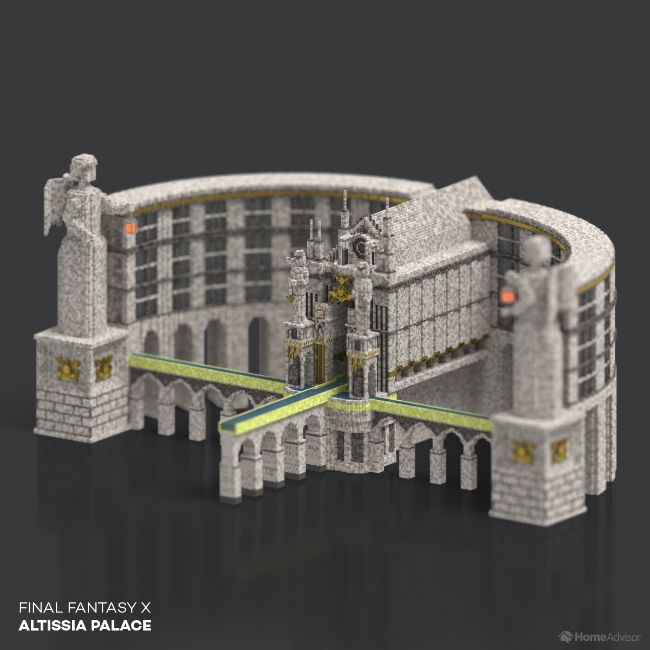 Final Fantasy X Altissia Palace