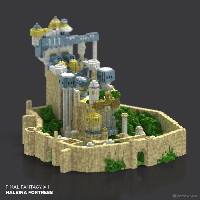 Final Fantasy XII Nalbina Fortress