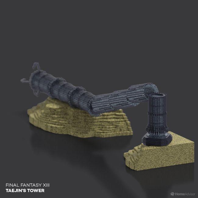 Final Fantasy XIII Taejin's Tower