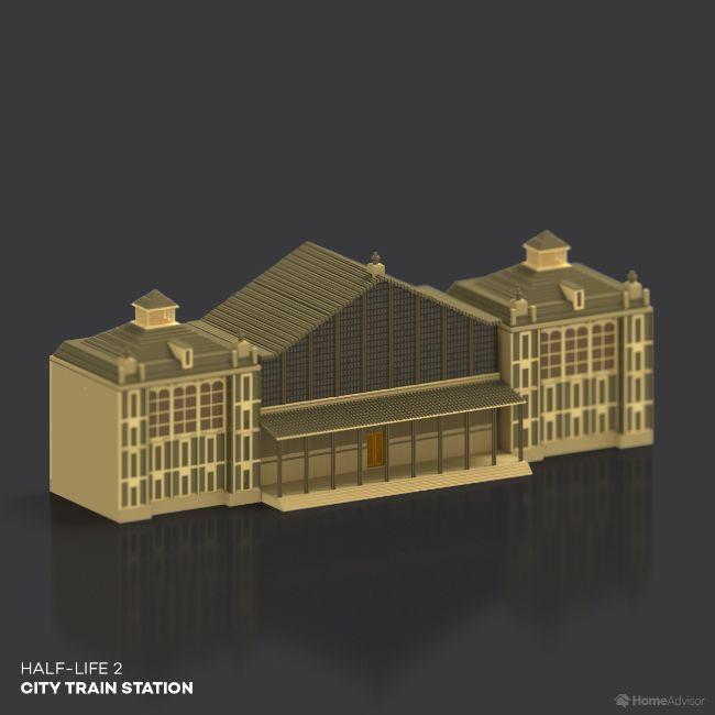 Half Life 2 City Train Station