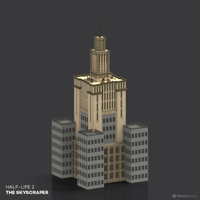 Half Life 2 The Skyscraper