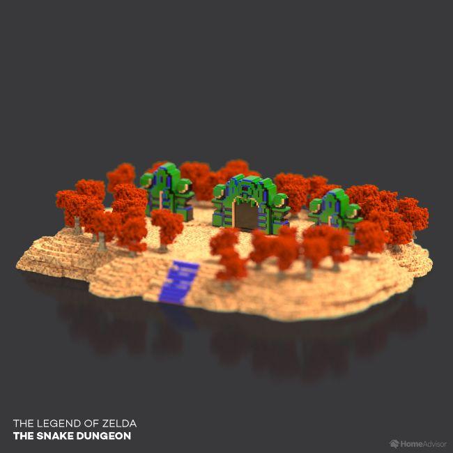 The Legend Of Zelda The Snake Dungeon