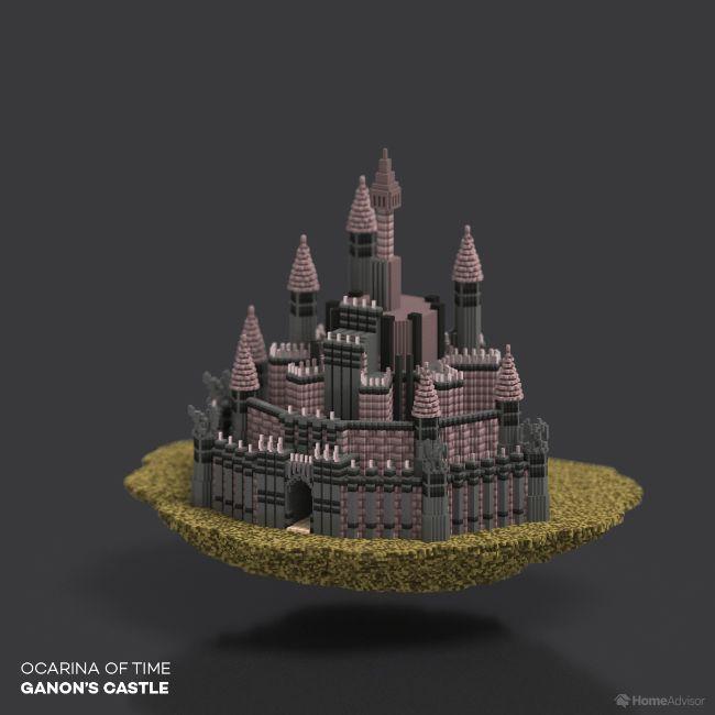 Ocarina Of Time Ganon's Castle
