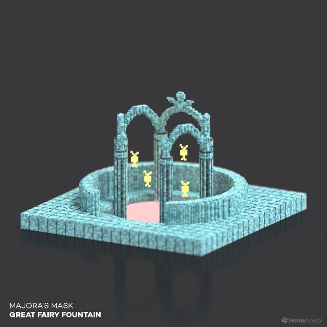 Majora's Mask Great Fairy Fountain