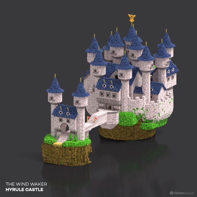 The Wind Waker Hyrule Castle