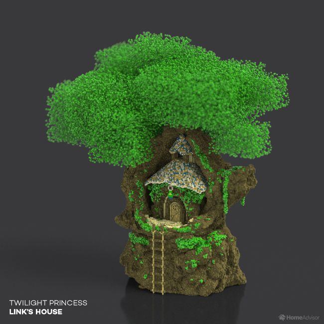 Twilight Princess Link's House