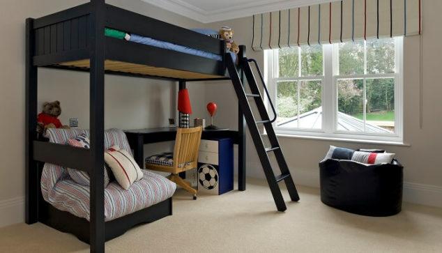 kids bedroom with carpet