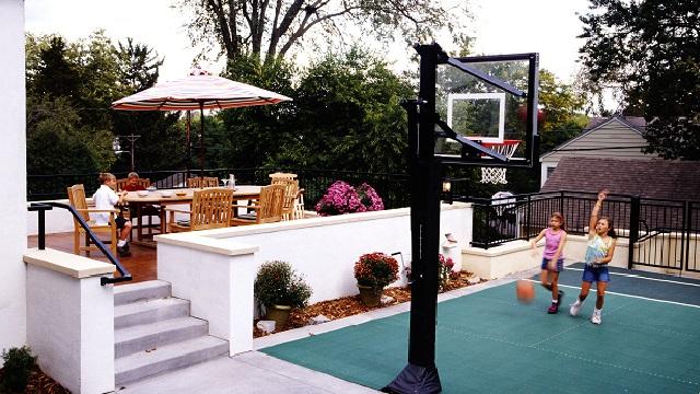 I Afford A Backyard Basketball Court