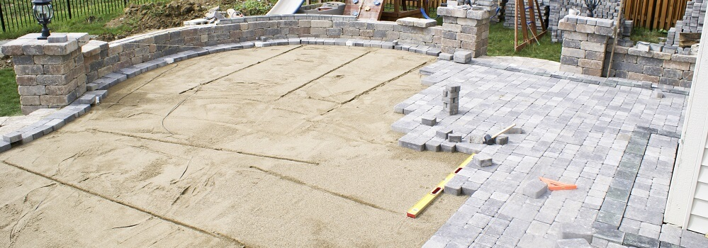 2020 Stamped Concrete Vs Pavers Costs For Patios Or Driveways Homeadvisor