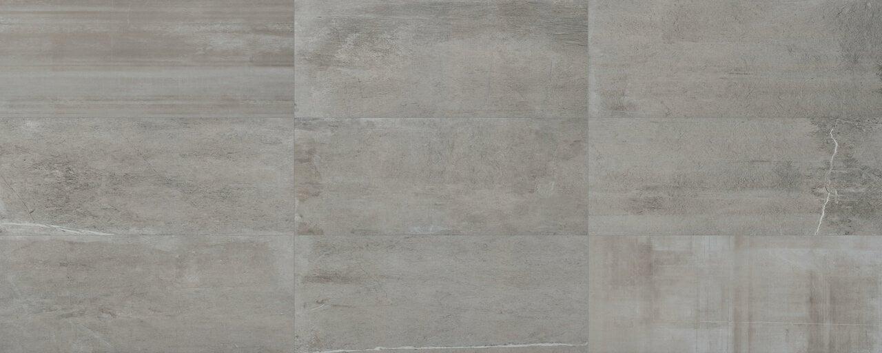 close up porcelain tile floor