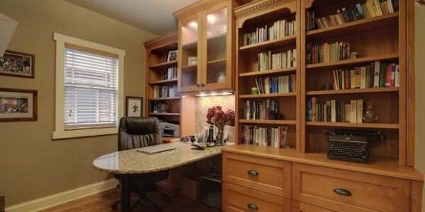 2020 Average Built In Bookshelves Cost