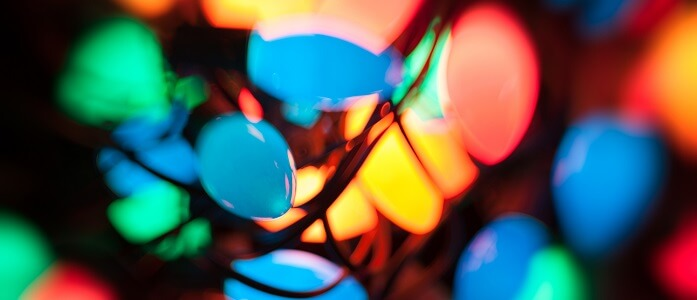 c9 christmas lights blue red and yellow