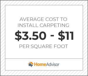2020 Carpet Installation Cost Prices Per Sq Ft Homeadvisor