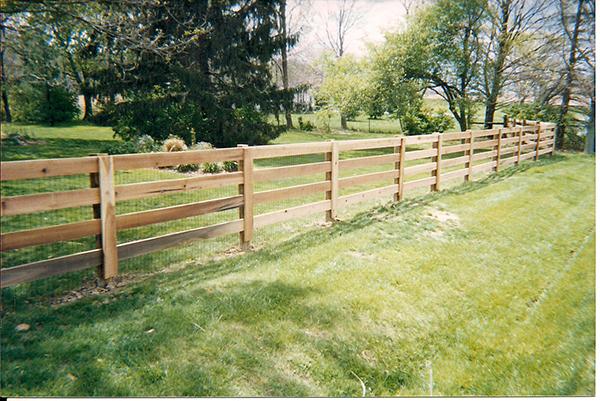 Ranch or Farm Style Fence